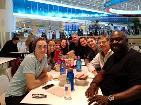 Haiti GO Team Feb 2016 dinner in NY