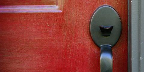 Red door handle - bringing the gospel home