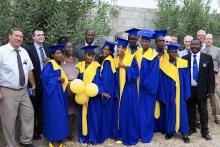 G.O. Team with CENV Graduates