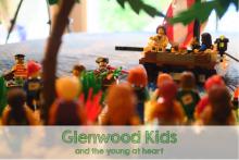 A Lego Bible Scene