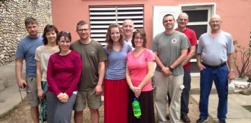 The Haiti G.O. Team,  February 2015